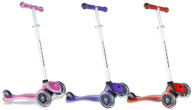 Globber Primo 3-Wheel Adjustable Height Scooter
