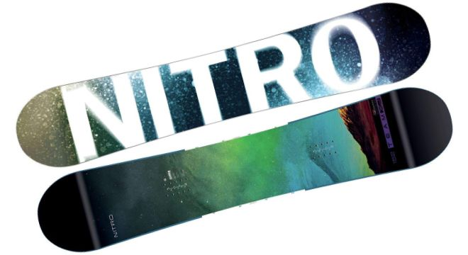 Nitro Team Exposure Snowboard
