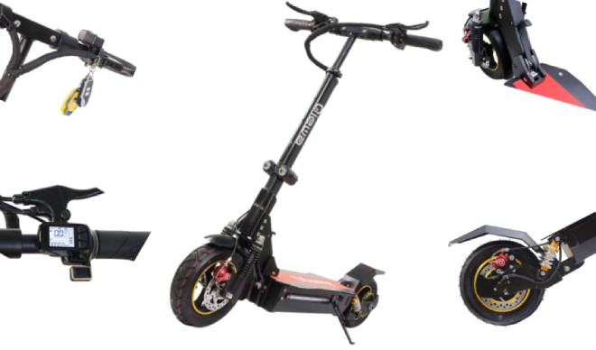 QIEWA QHummer 800Watts 37MPH Electric Scooter