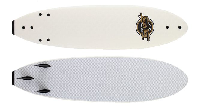 SBBC 7 Soft Top Surfboard