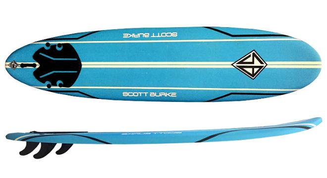 Scott Burke 76 Surfboard Package