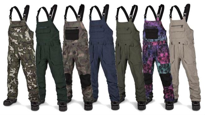 Volcom Roan Bib Overall Pant