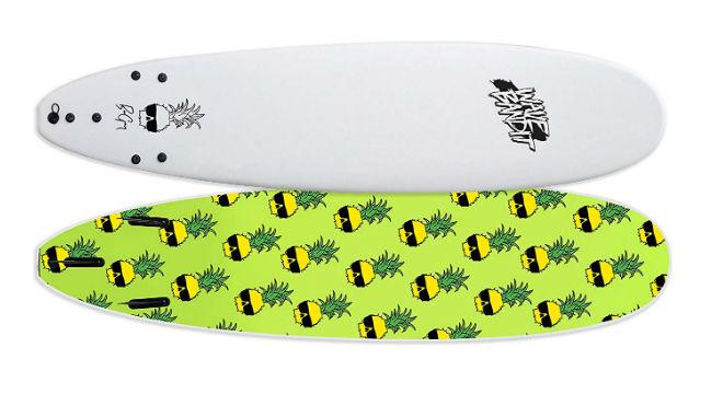 Wave Bandit Ben Gravy Pro EZ Rider Surfboard
