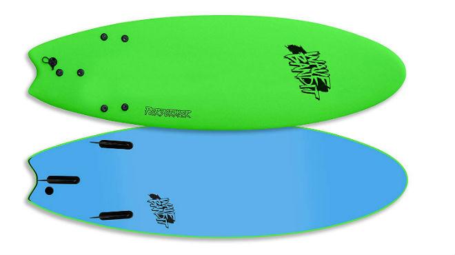 Wave Bandit Performer Tri Surfboard