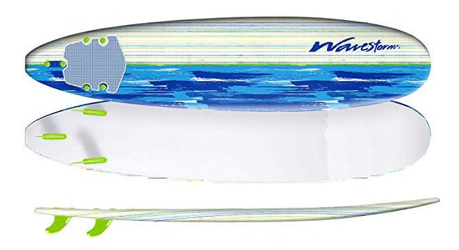Wavestorm 8 Surfboard Brushed Graphic