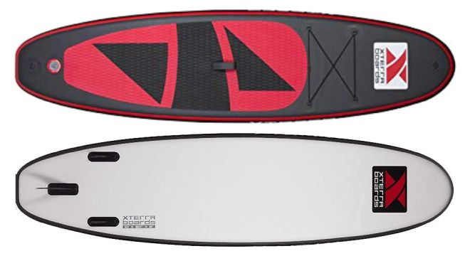 XTERRA Boards 10 Inflatable Stand Up Paddle Board