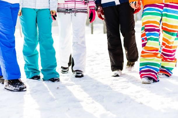 Types ski pants