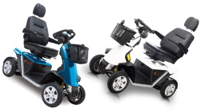 Pride Apex Epic 4 Wheeled Mobility Scooter