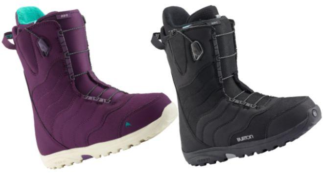 Burton Mint Purps snowboard boots
