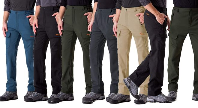 Clothin Mens Softshell Pants