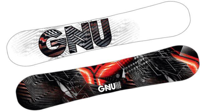 Gnu Asym Carbon Credit Snowboard