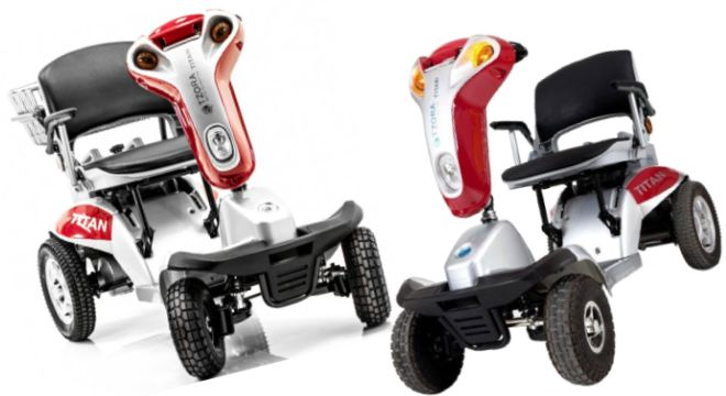Hummer XL Folding 4-Wheel Electric Mobility Scooter