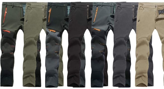 MAGCOMSEN Mens Outdoor Pants