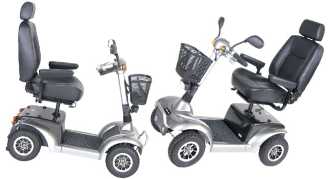 Prowler 3410 Series 4-Wheel Mid-Size Scooter