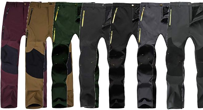 Singbring Outdoor Pants for Men Women