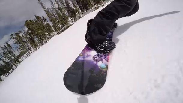 Snowboard Sidecut