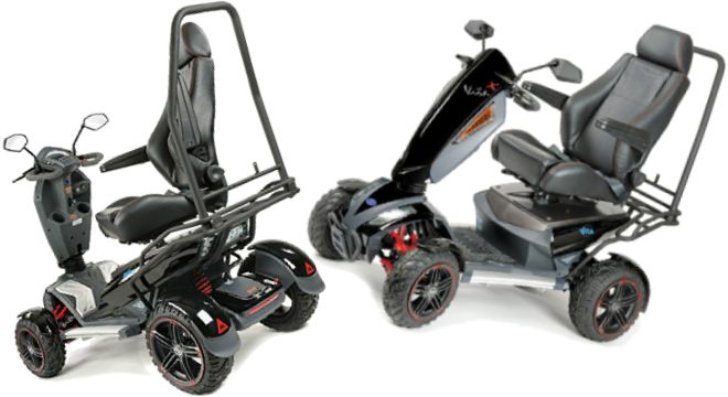 TGA Mobility Vita X Deluxe 4 All Terrain Mobility Scooter