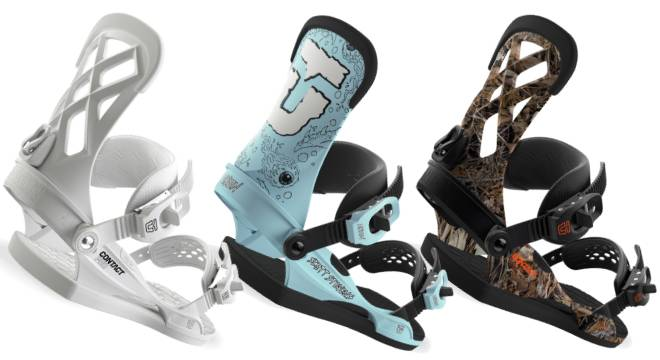 Union Contact Pro Snowboard Bindings Men