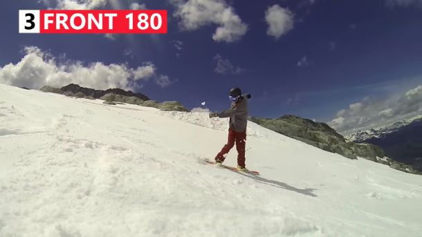 How to Do a Frontside Turn