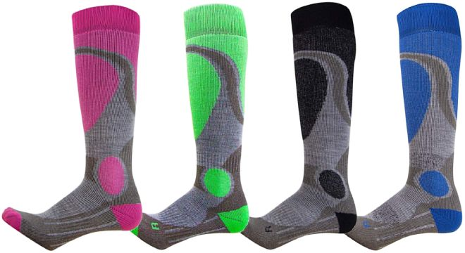 Pure Athlete Elite Ski Socks
