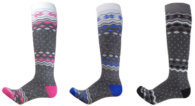Pure Athlete Midweight Ski Socks