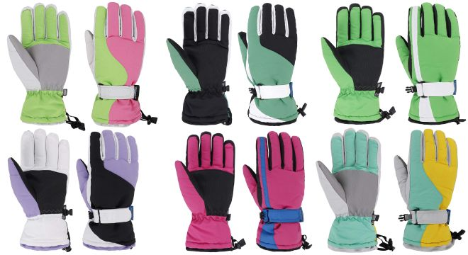 Simplicity Women Ski Gloves