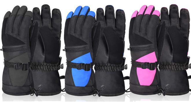 Solaris Ski Gloves for Women