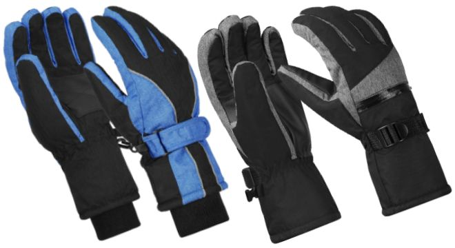Terra Hiker Waterproof Winter Warm Ski Gloves