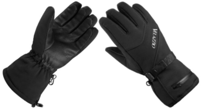 VELAZZIO Waterproof Breathable Snowboard Gloves