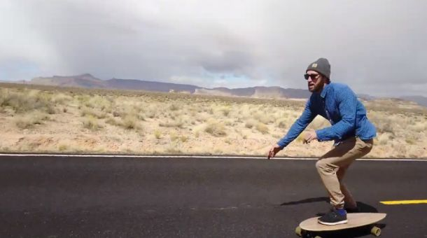 What is flat ground carving cruising