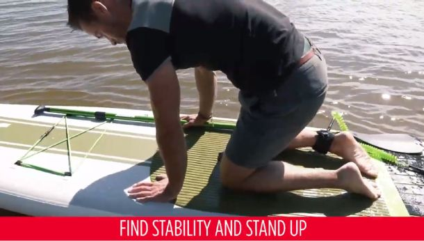 How to stand up on your board