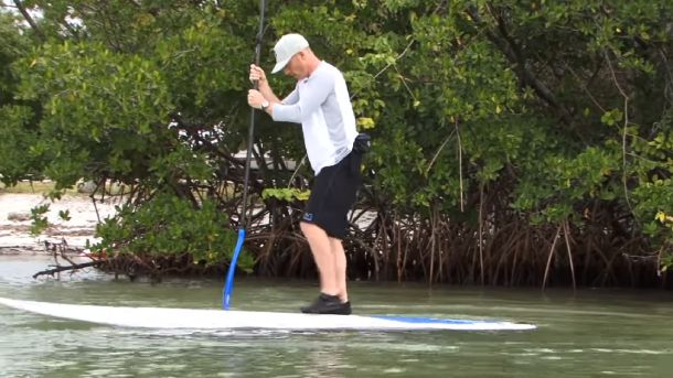 Do you need water shoes for paddle boarding