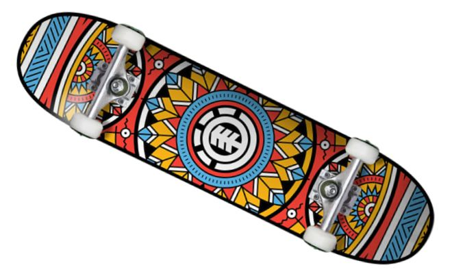 Element Skateboards Feathers