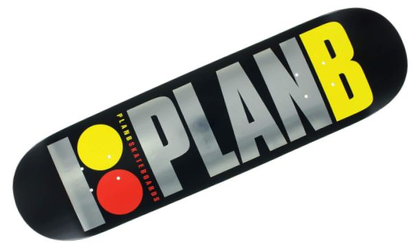 Plan B Team OG BLK ICE deck