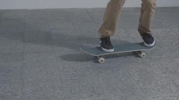 Get your feet in the right position on the board