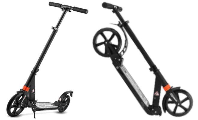 HUDORA 230 Aluminum Foldable Scooters