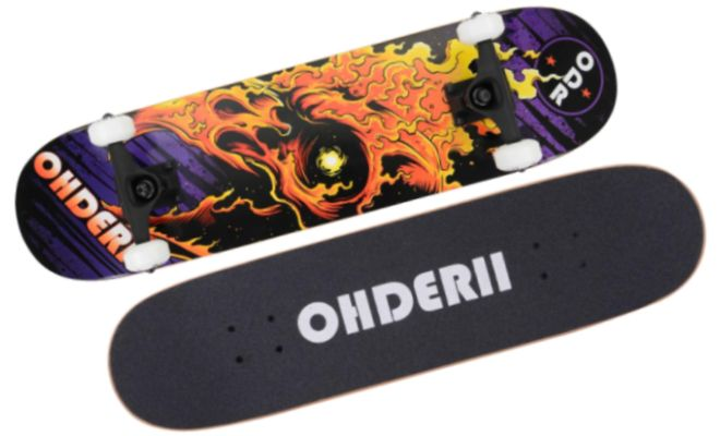 Ohderii Complete Skateboard
