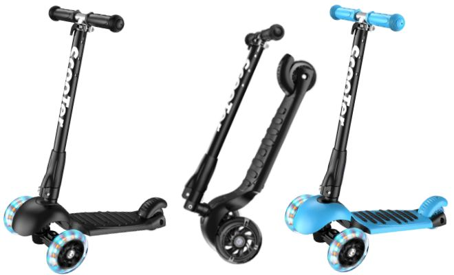 Banne Scooter Height Adjustable Lean Kick Scooters