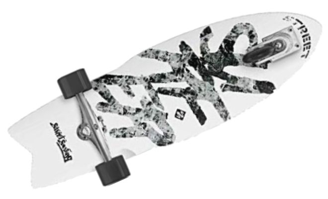 Street Surfing SHARK ATTACK Skateboard
