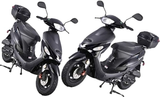 TAO SMART DEALSNOW 50cc Gas Powered Scooter