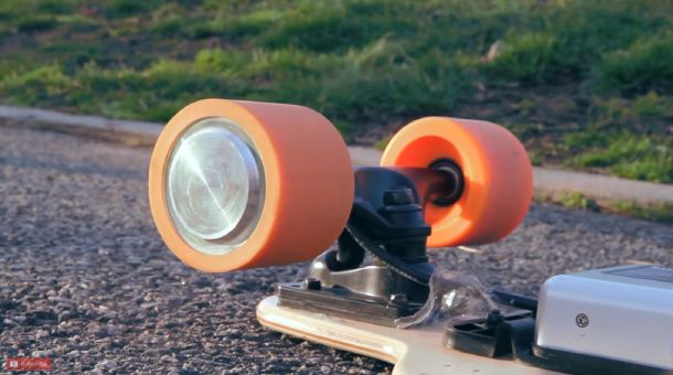 Shock-absorbing Polyurethane Wheels