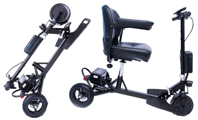 Glion SNAPnGO 3-Wheel Mobility Scooter