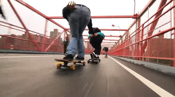 Long-ride Skating Route In Manhattan