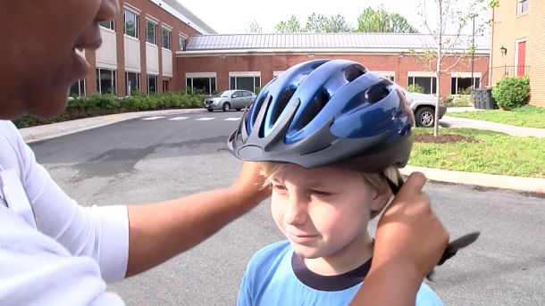 Why do Kids have to Wear a Helmet