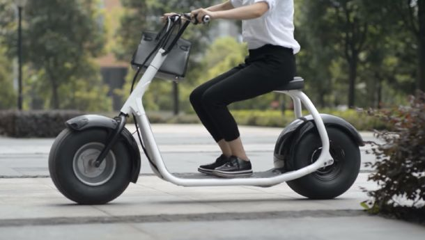 What is a Fat Tire Electric Scooter