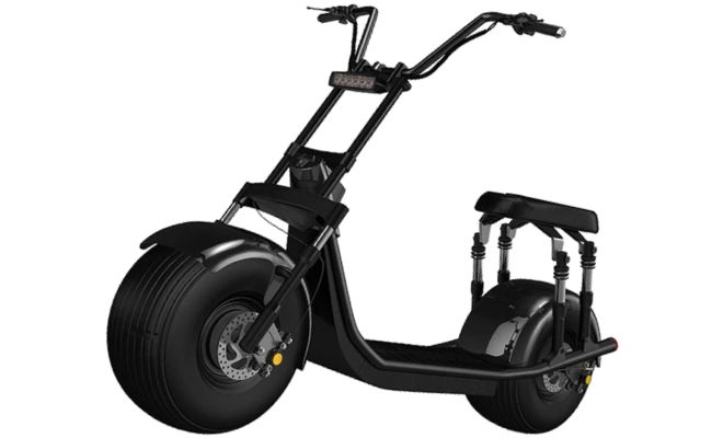 Electric Moped Fat Tire Scooter