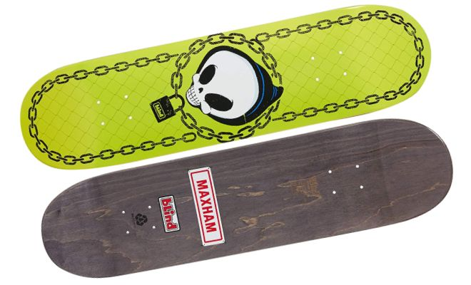 Blind Skateboard Deck Reaper Chain Maxham