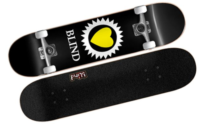Blind Skateboards Heart Black
