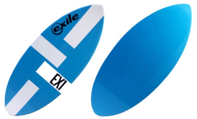 Blue Small EX1 Skimboard