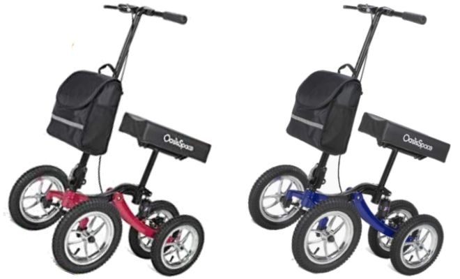 OasisSpace Upgraded Knee Scooter Walker